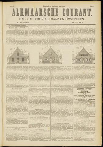 Alkmaarsche Courant 1914-03-14