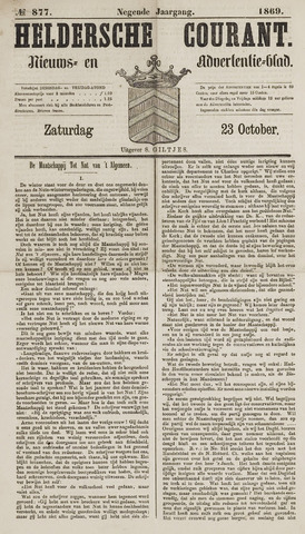 Heldersche Courant 1869-10-23