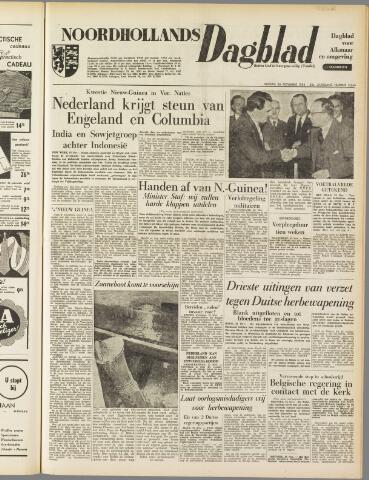 Noordhollands Dagblad : dagblad voor Alkmaar en omgeving 1954-11-26
