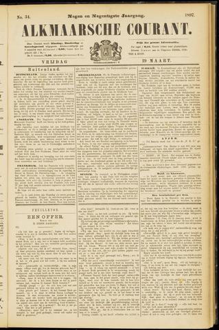 Alkmaarsche Courant 1897-03-19