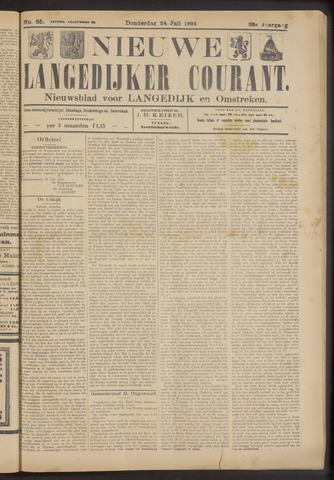 Nieuwe Langedijker Courant 1924-07-24