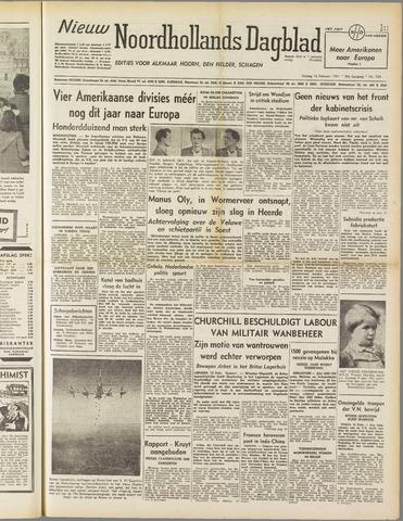 Nieuw Noordhollandsch Dagblad : voor Alkmaar en omgeving 1951-02-16