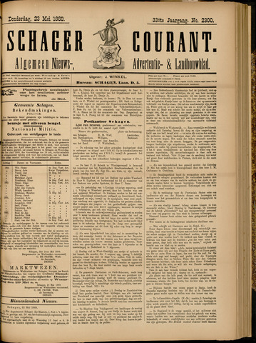 Schager Courant 1889-05-23