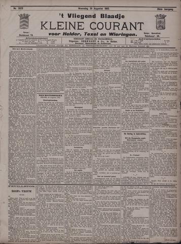 Vliegend blaadje : nieuws- en advertentiebode voor Den Helder 1900-08-29