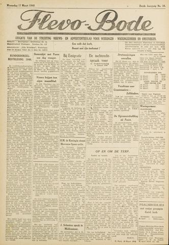 Flevo-bode: nieuwsblad voor Wieringen-Wieringermeer 1948-03-17
