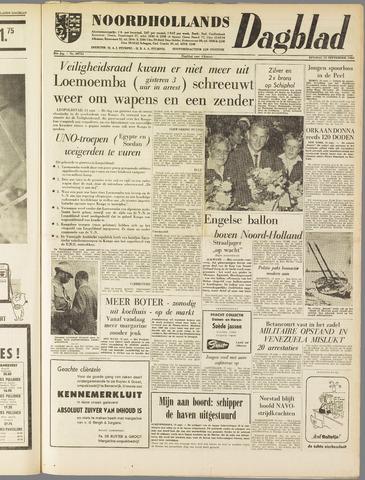 Noordhollands Dagblad : dagblad voor Alkmaar en omgeving 1960-09-13