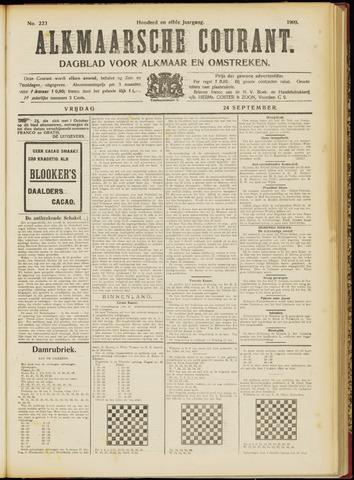 Alkmaarsche Courant 1909-09-24