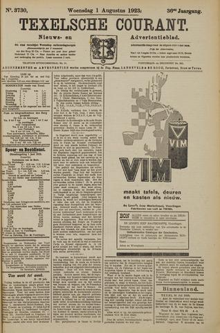 Texelsche Courant 1923-08-01
