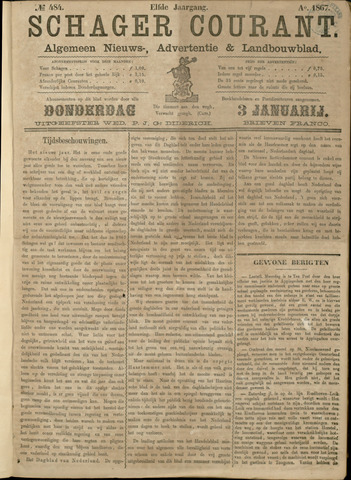Schager Courant 1867