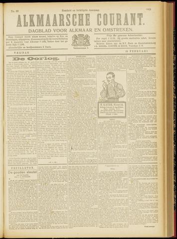 Alkmaarsche Courant 1918-02-15