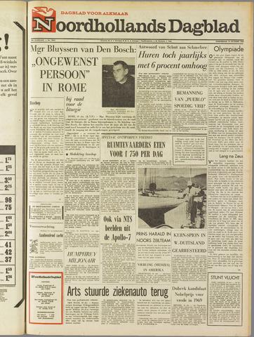 Noordhollands Dagblad : dagblad voor Alkmaar en omgeving 1968-10-10
