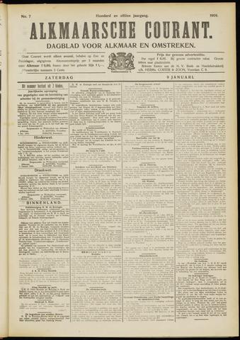 Alkmaarsche Courant 1909-01-09