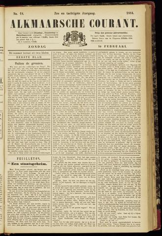 Alkmaarsche Courant 1884-02-10
