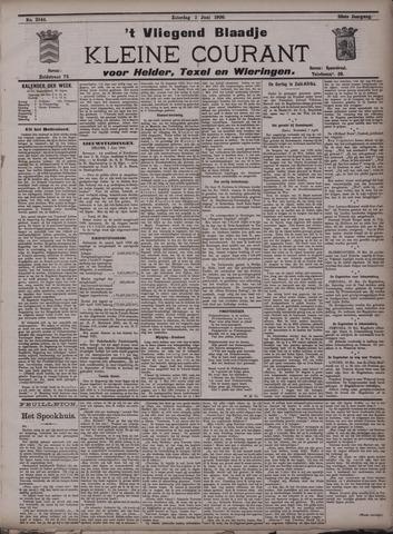 Vliegend blaadje : nieuws- en advertentiebode voor Den Helder 1900-06-02