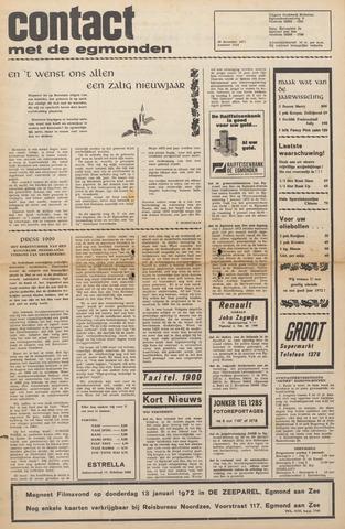 Contact met de Egmonden 1971-12-29