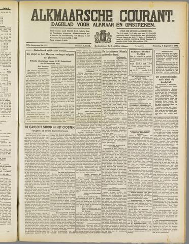 Alkmaarsche Courant 1941-09-08