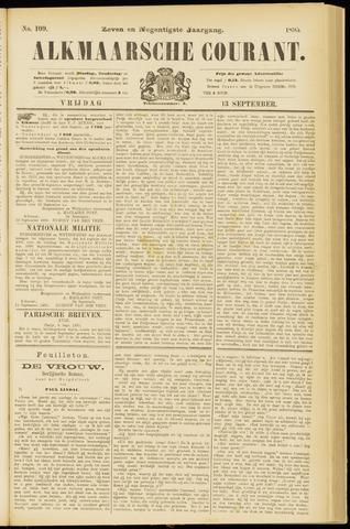 Alkmaarsche Courant 1895-09-13