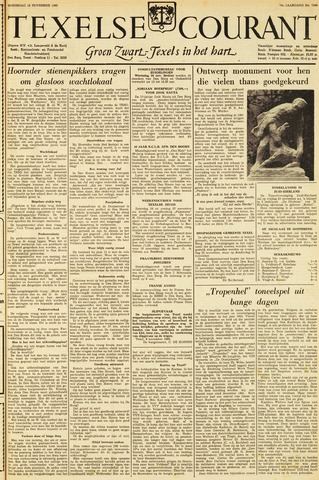 Texelsche Courant 1960-11-16