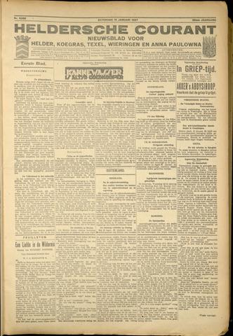 Heldersche Courant 1927-01-15