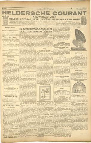 Heldersche Courant 1927-04-07