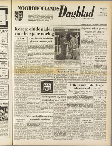 Noordhollands Dagblad : dagblad voor Alkmaar en omgeving 1953-07-21