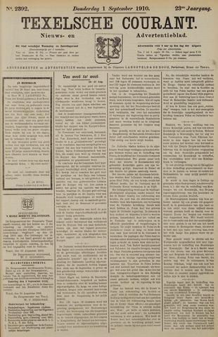 Texelsche Courant 1910-09-01