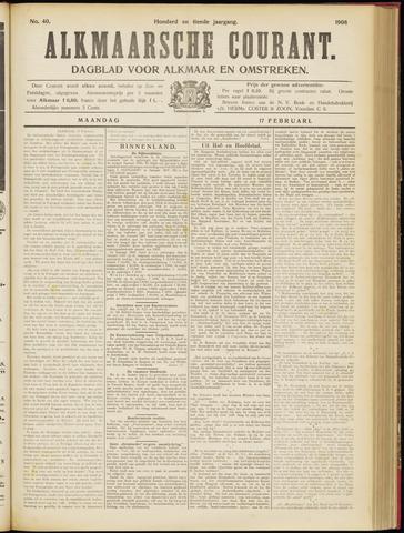 Alkmaarsche Courant 1908-02-17