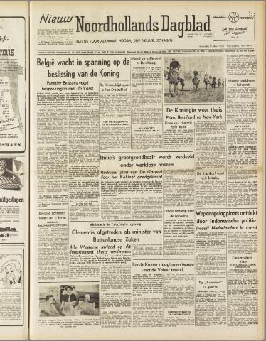 Nieuw Noordhollandsch Dagblad : voor Alkmaar en omgeving 1950-03-15