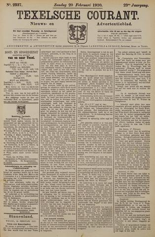 Texelsche Courant 1910-02-20