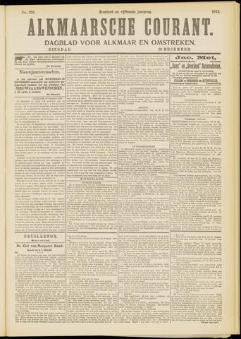 Alkmaarsche Courant 1913-12-16