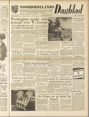 Noordhollands Dagblad : dagblad voor Alkmaar en omgeving 1958-01-31