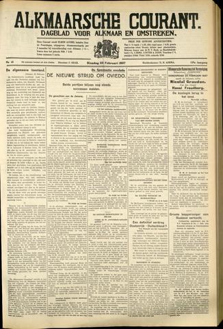 Alkmaarsche Courant 1937-02-23