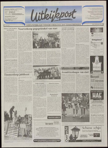 Uitkijkpost : nieuwsblad voor Heiloo e.o. 2001-06-06
