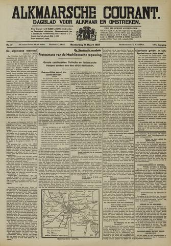 Alkmaarsche Courant 1937-03-11