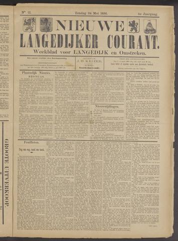 Nieuwe Langedijker Courant 1896-05-24