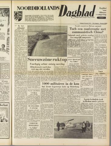 Noordhollands Dagblad : dagblad voor Alkmaar en omgeving 1954-01-29