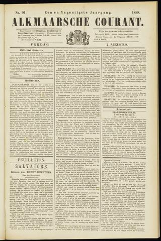Alkmaarsche Courant 1889-08-02