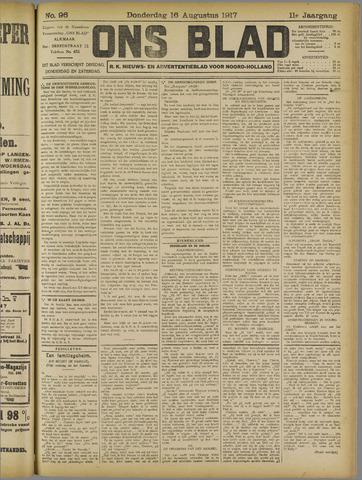 Ons Blad : katholiek nieuwsblad voor N-H 1917-08-16