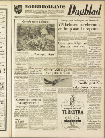 Noordhollands Dagblad : dagblad voor Alkmaar en omgeving 1961-01-24