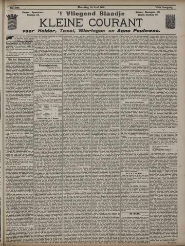 Vliegend blaadje : nieuws- en advertentiebode voor Den Helder 1909-06-23