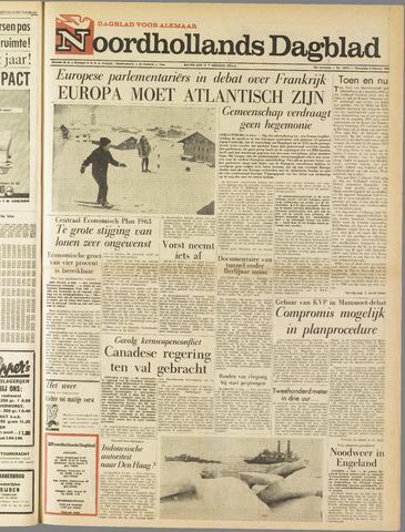 Noordhollands Dagblad : dagblad voor Alkmaar en omgeving 1963-02-06
