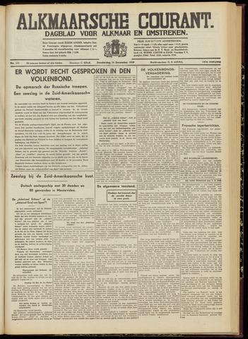 Alkmaarsche Courant 1939-12-14