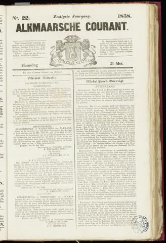 Alkmaarsche Courant 1858-05-31