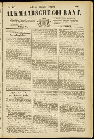 Alkmaarsche Courant 1886-09-05