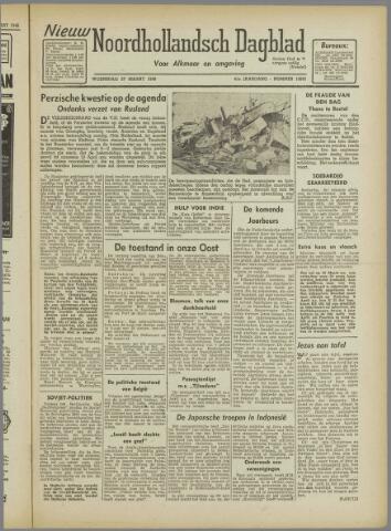 Nieuw Noordhollandsch Dagblad : voor Alkmaar en omgeving 1946-03-27