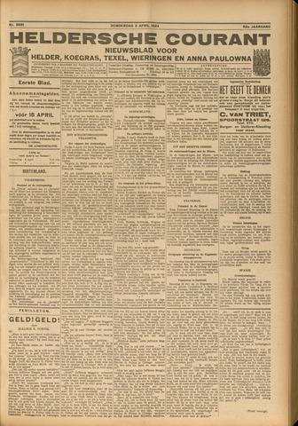 Heldersche Courant 1924-04-03