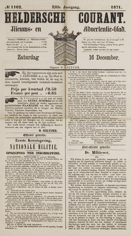Heldersche Courant 1871-12-16