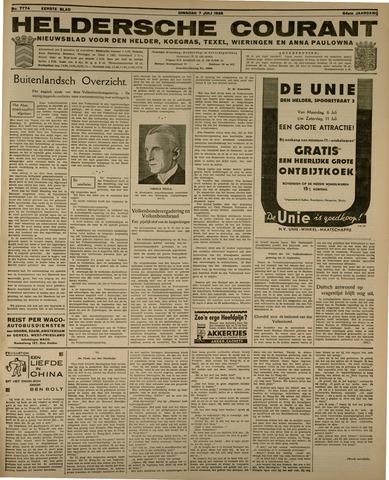 Heldersche Courant 1936-07-07