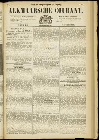 Alkmaarsche Courant 1891-02-08