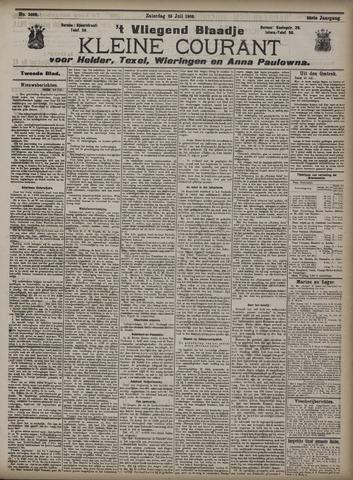 Vliegend blaadje : nieuws- en advertentiebode voor Den Helder 1908-07-25
